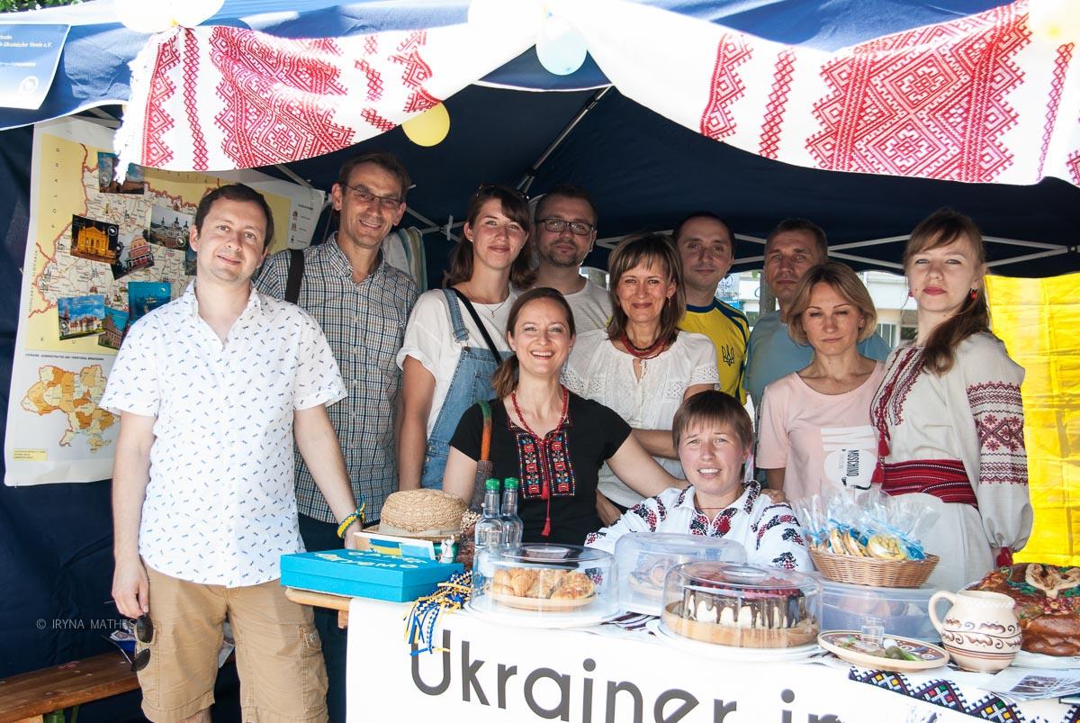 Ukrainer in Karlsruhe