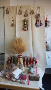 Motanka-Workshop Ausstellung