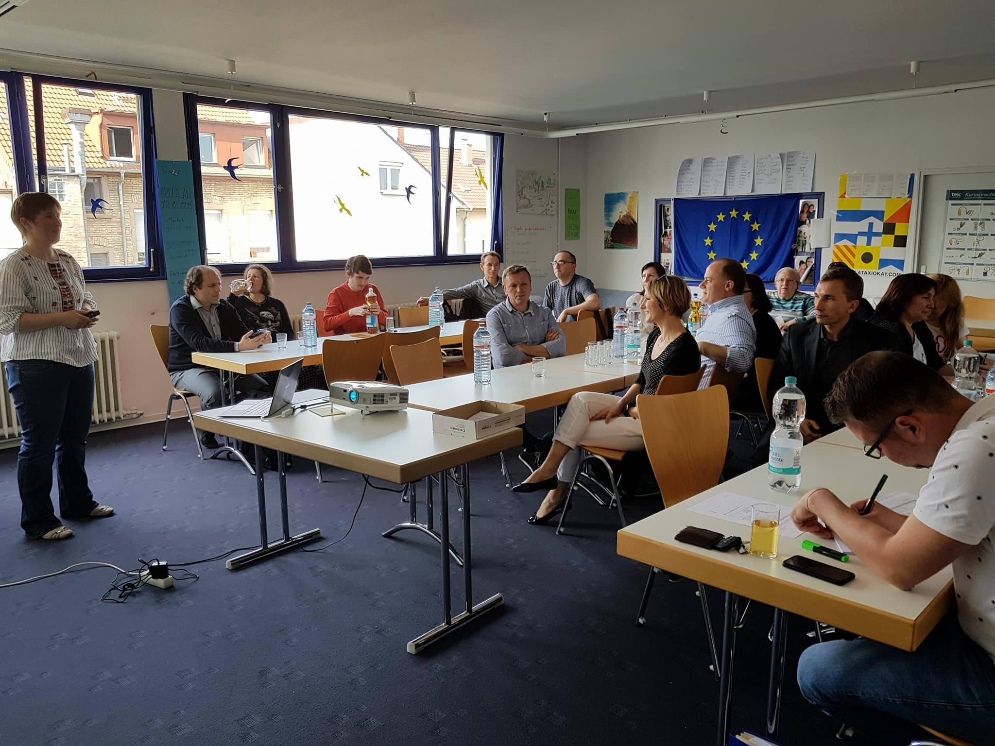 Mitgliederversammlung, Verein Ukrainer in Karlsruhe