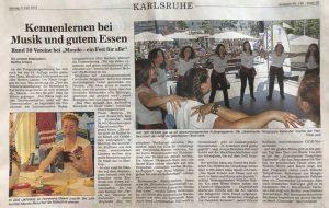 Ukrainer in Karlsruhe in BNN
