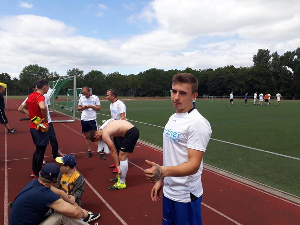 Ukrainer in Karlsruhe beim Kosak Cup