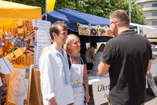 """Mondo Fest 2019, Karlsruhe. Verein """"Ukrainer in Karlsruhe"""" war dabei. Fotoreportage"""