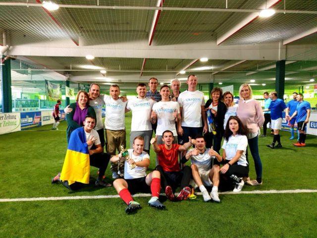 """Verein """" Ukrainer in Karlsruhe"""" bei der Diaspora Cup in Stuttgart, 2019"""