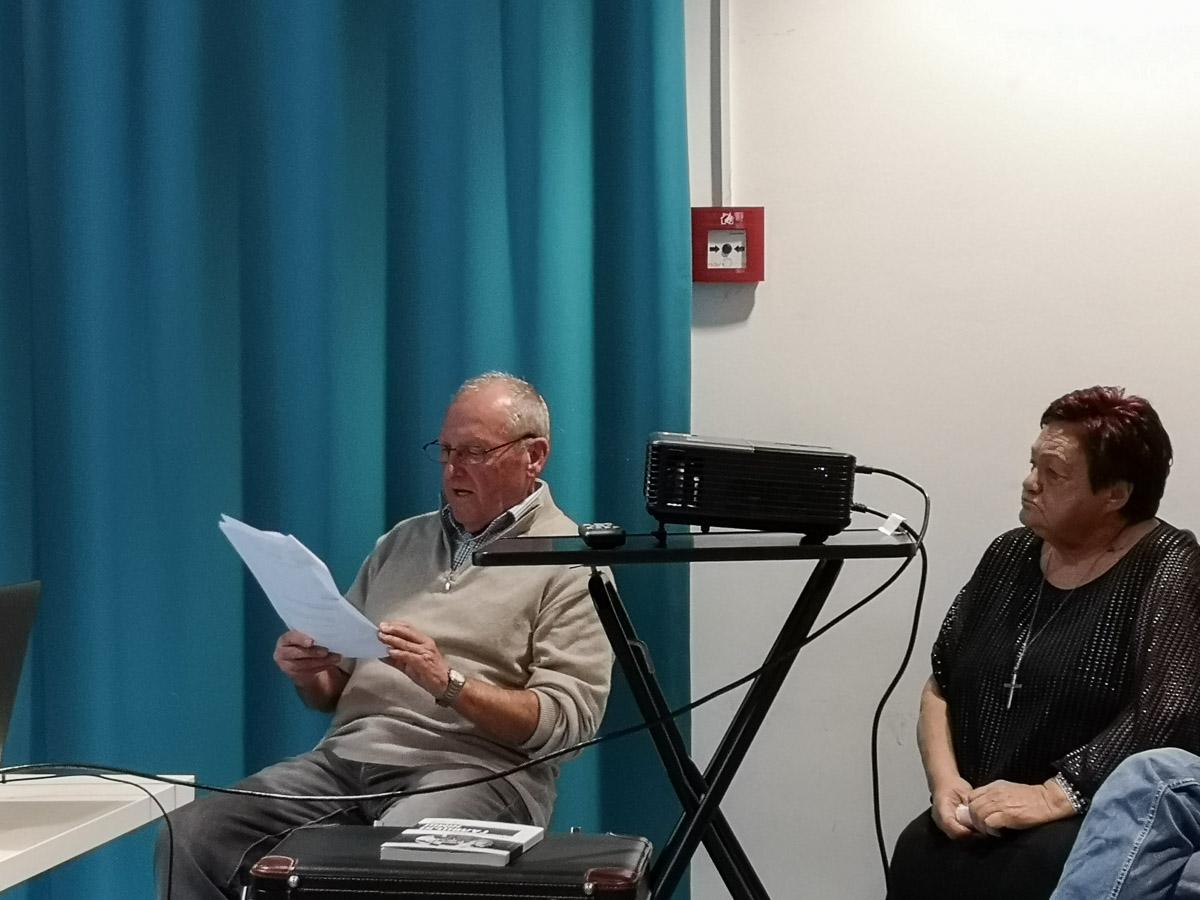 """Buchpräsentation von Olena Serpen. Verein """"Ukrainer in Karlsruhe"""". Literaturabend"""