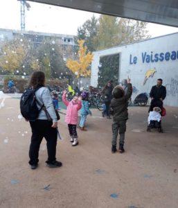 Samstagskindergarten Ausflug. Verein Ukrainer in Karlsruhe