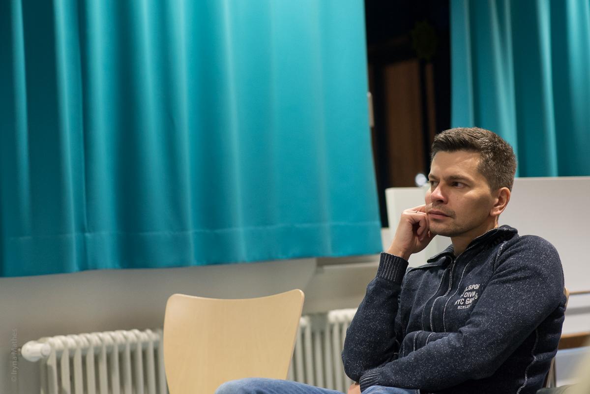 Literaturabend mit Kseniya Fuchs in Karlsruhe. Verein Ukrainer in Karlsruhe
