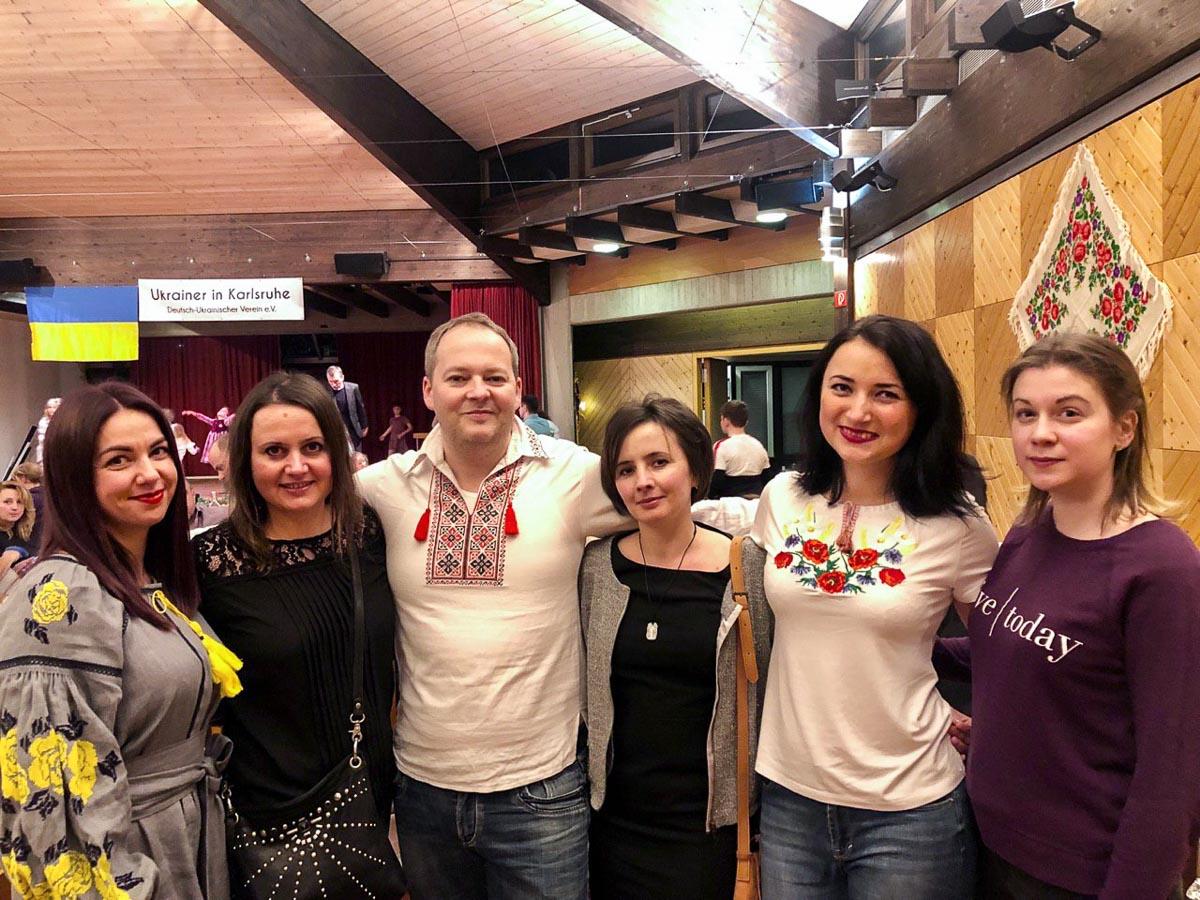 """Wir feiern Risdvo, ukrainische Weihnachten. Verein """"Ukrainer in Karlsruhe"""""""