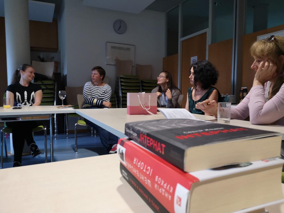 Literaturabend, Verein Ukrainer in Karlsruhe
