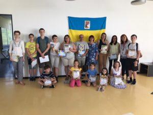 Schulstart 2020-2021, Verein Ukrainer in Karlsruhe