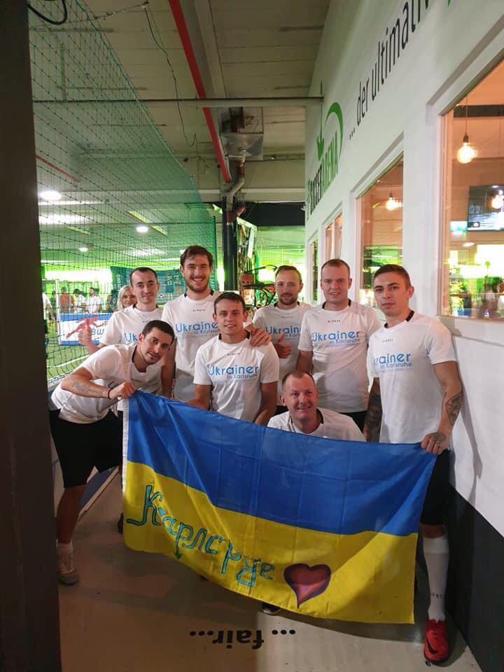 Diaspora Cup, Stuttgart 2020. Verein Ukrainer in Karlsruhe