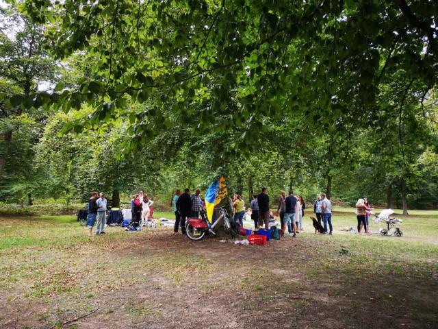 Picknick 2020, Verein Ukrainer in Karlsruhe