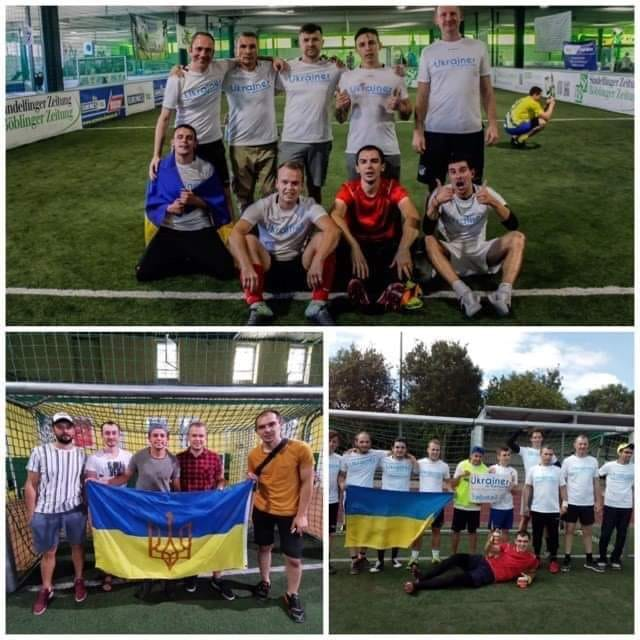 Diaspora Cup, Ukrainer in Karlsruhe