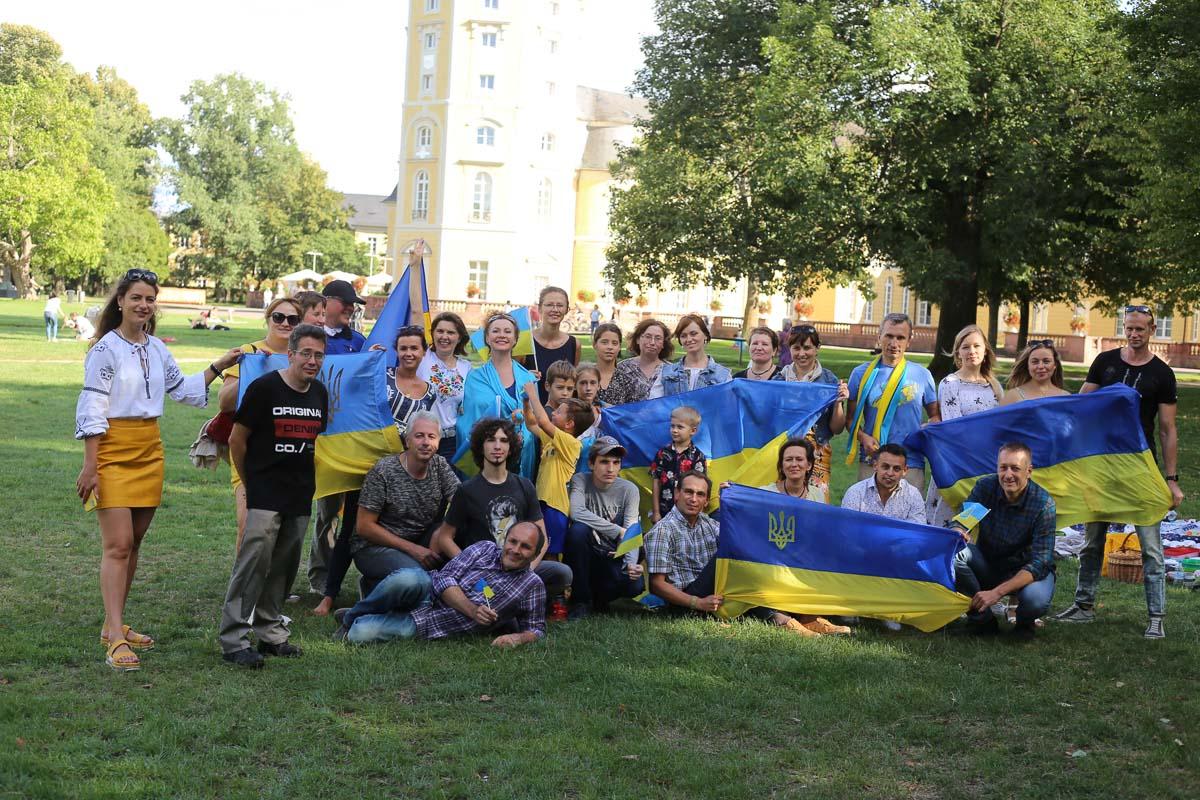 Unabhängigkeitstag und Tag der Flagge der Ukraine