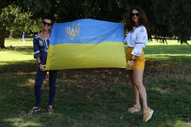 Unabhängigkeitstag und tag der Flagge