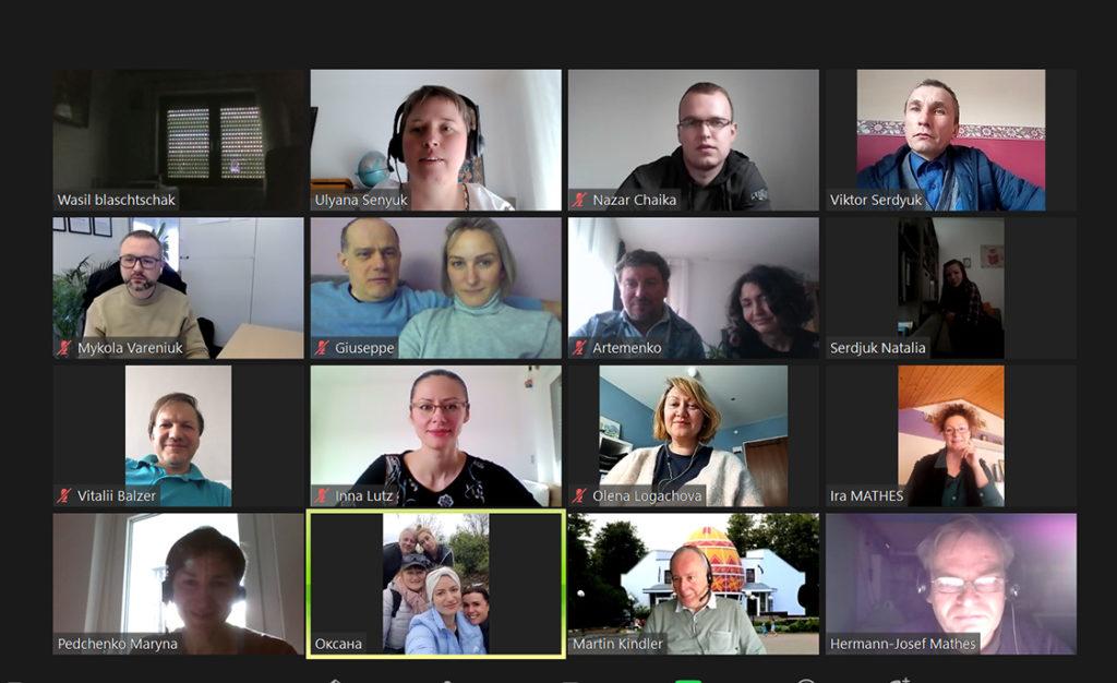 Mitgliederversammlung mit Jahresberichten und Wahlen 2021, Verein Ukrainer in Karlsruhe
