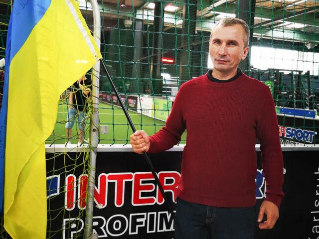 Sporturfest zum 30. Jahrestag der Unabhängigkeit der Ukraine. Verein Ukrainer in Karlsruhe